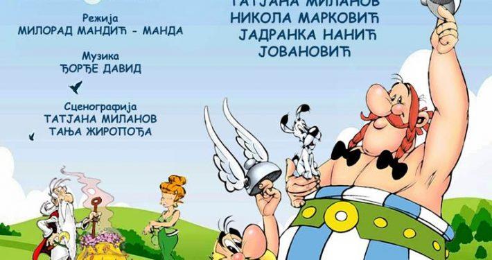 Asterix i Obelix Plakat-1