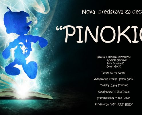 Plakat Pinokio