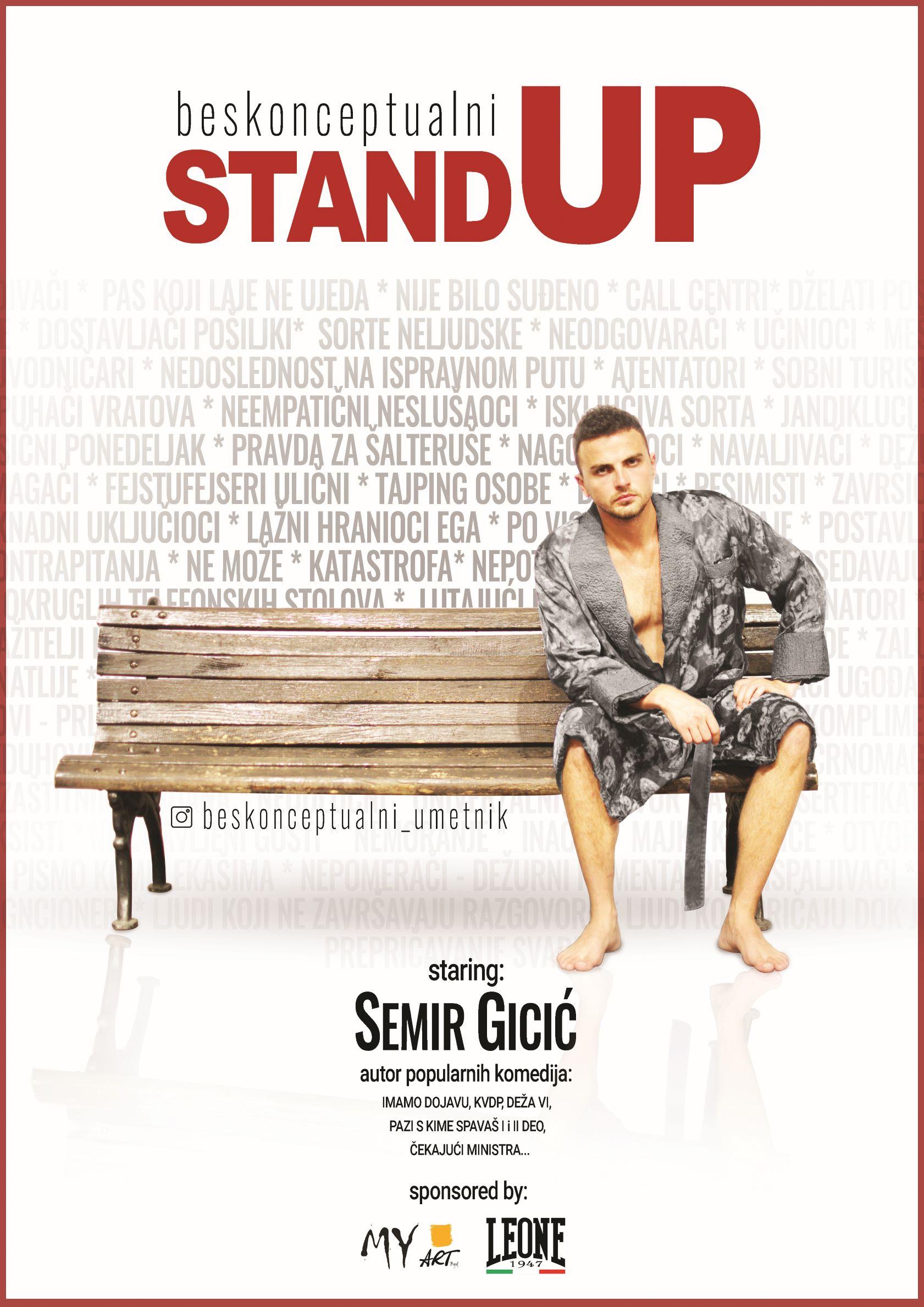 Beskonceptualni stand up Semir Gicic